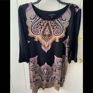 Cha Cha Vente size large 3/4 sleeve top